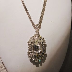 Vintage 1950's Long pendant necklace